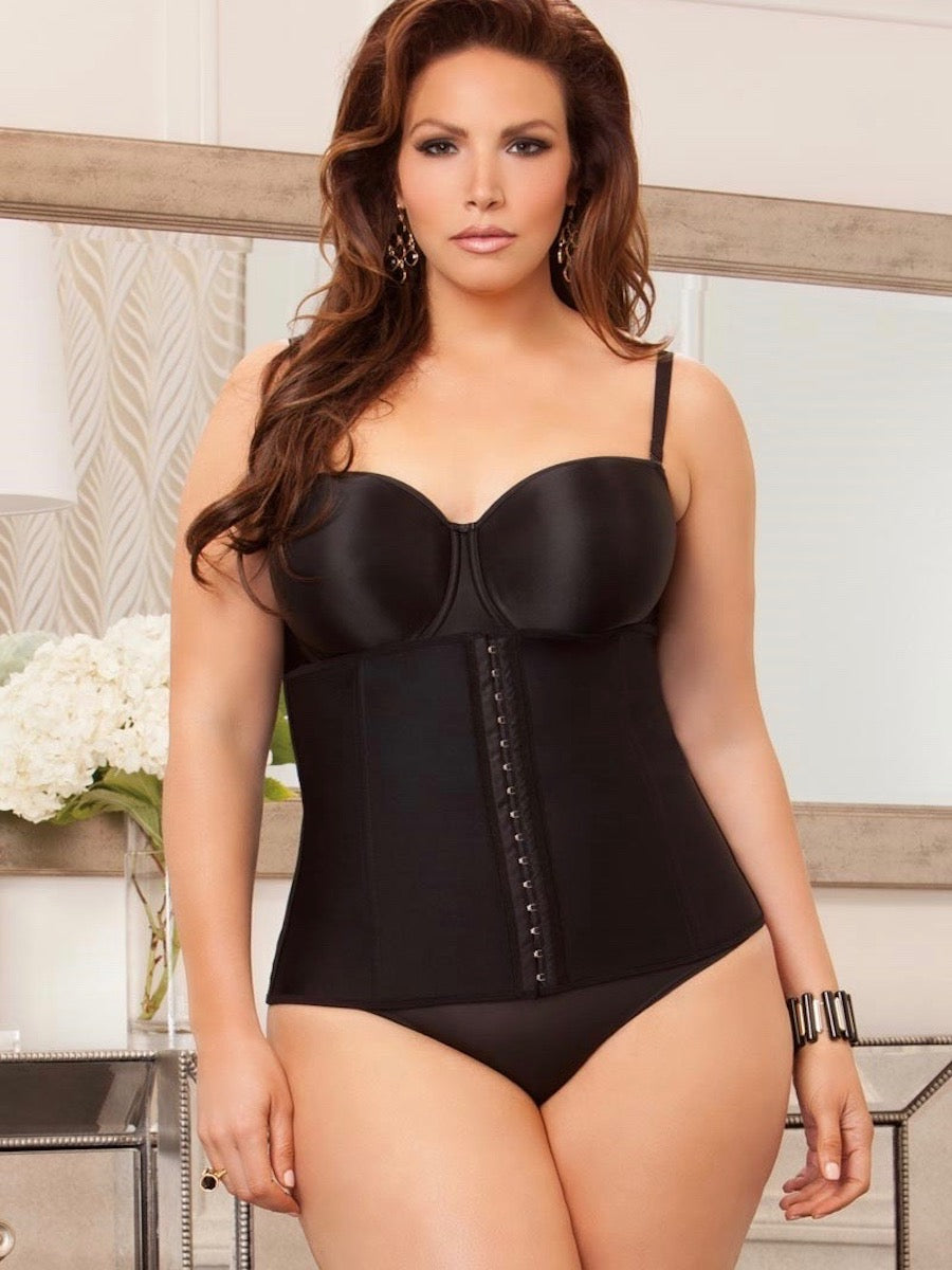 488736886e iCollection Women s Plus-Sized Graduating Waist Trainer for Weight Loss
