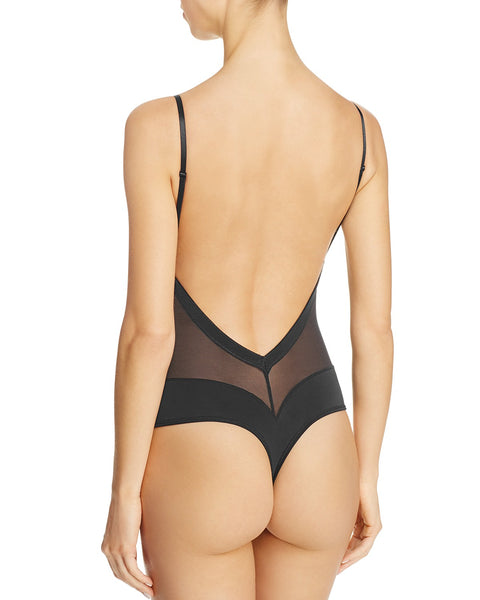 Low Back Bodysuit, Fine Line Refined Convertible Bodysuit
