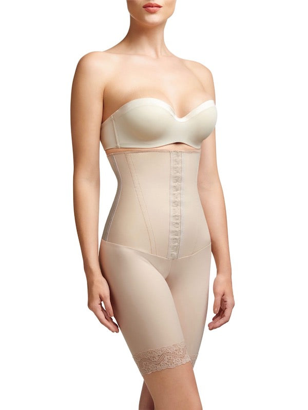 Squeem Sexy Body Firm Control High Waist Mid Thigh Shaper Short