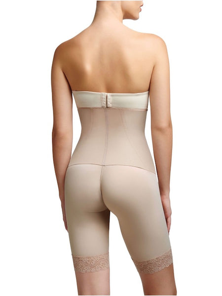 Full Body Shaper- Squeem Firm Control High Waist Mid Thigh Shaper Short