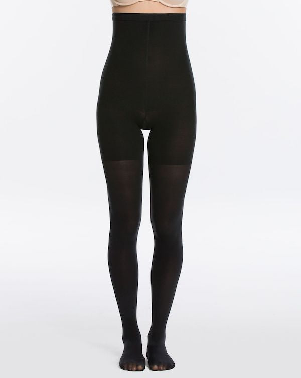 Spanx Luxe Leg High-Waisted Mid-Thigh Shaping Tights