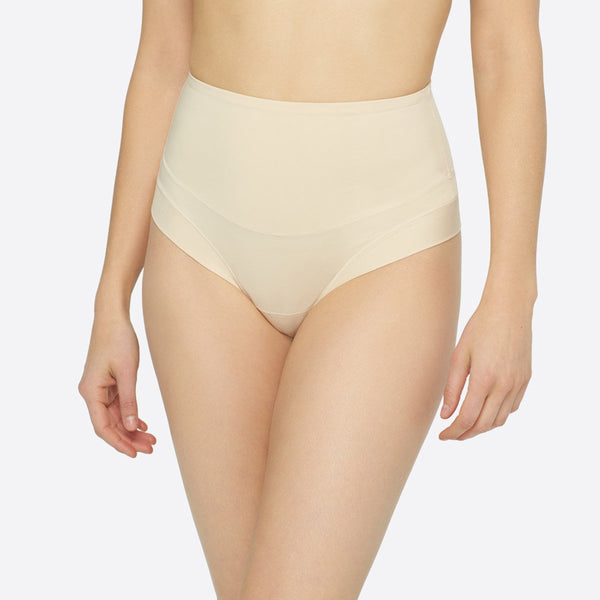 Shapewear For Love Handles-Yummie Tummie Tamers Waist Shaper Thong