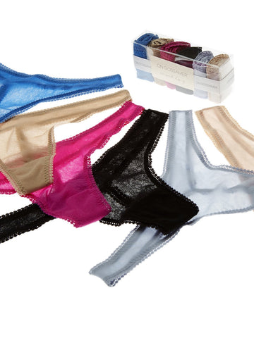 On Gossamer Mesh Hip-G 6 Pair Gift Set