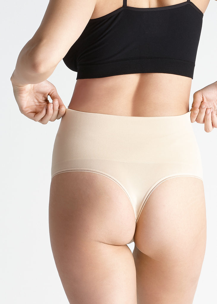 Yummie Tummie Shaping Thong | HauteFlair