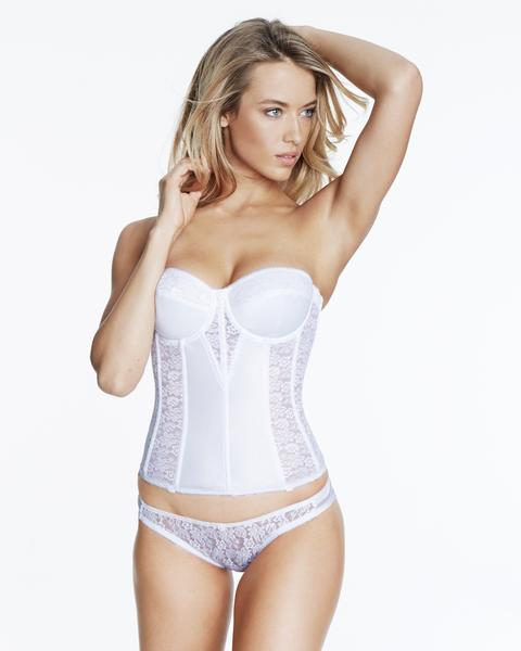 Dominique Bridal Lace Corset Bridal Bra