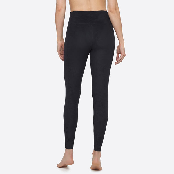 Yummie Faux Suede Signature Waistband Legging