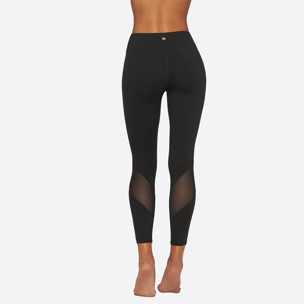 Yummie 3/4 Legging with Mesh Detail