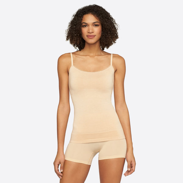 cami with bra shelf - Seamlessly Shaped Convertible Camisole