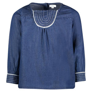 MELINA TOP | BLUE