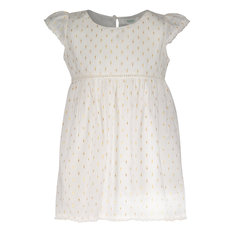 EMMA GOLD SPECKLES DRESS