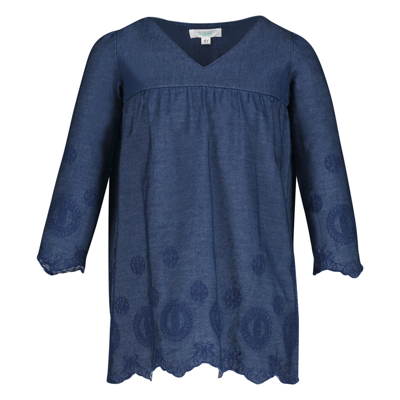 AMANDA DENIM TUNIC