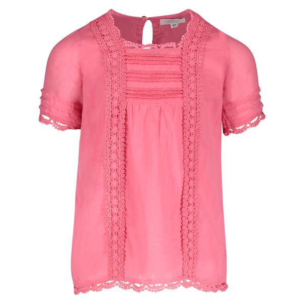 PILLY TUNIC BLOUSE | PINK