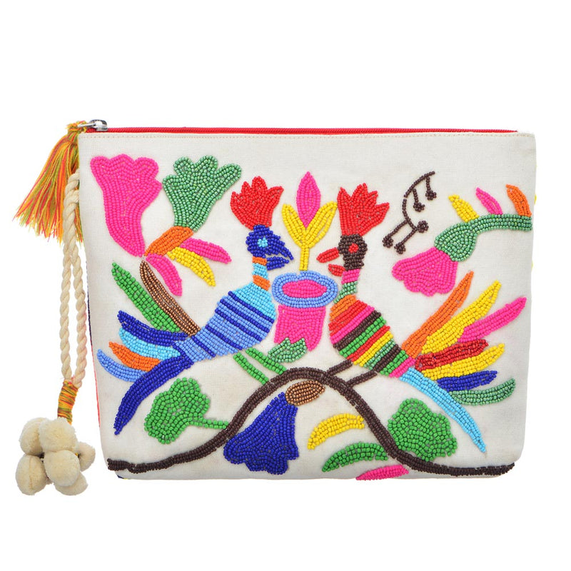 Peacock Clutch