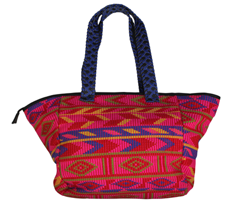 Naina Emebellished Tote - Hot Pink / Multi