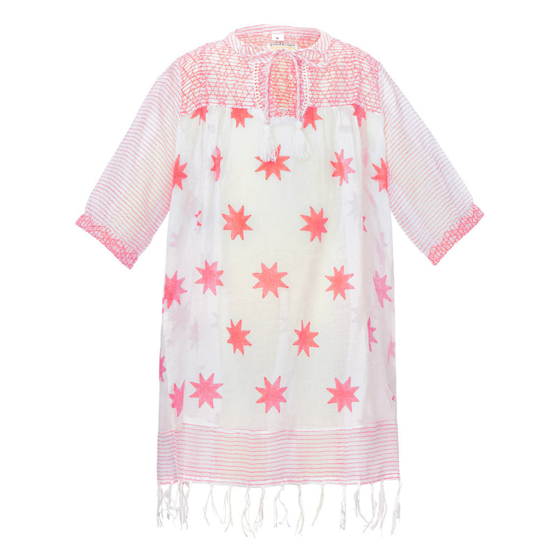 SHILOH STAR TUNIC | BLUE| PINK