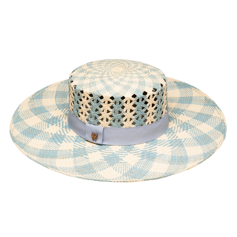 DIANA PERIWINKLE HAT