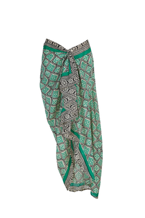 TERESA PAREO SKIRT GREEN