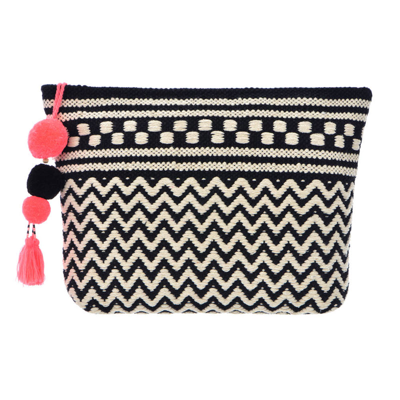 Tahiti Clutch - Black