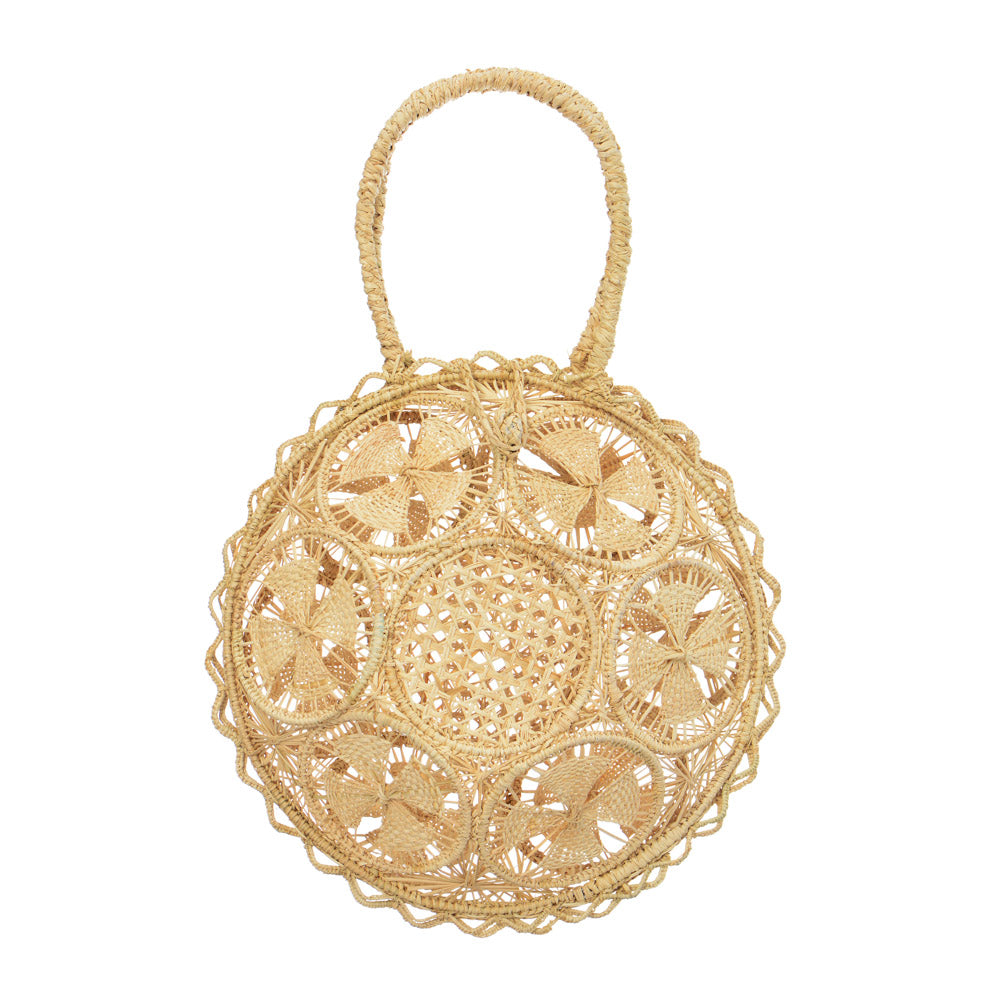 Galapagos Round Basket - Natural
