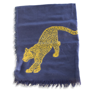 CHEETAH BLUE & YELLOW