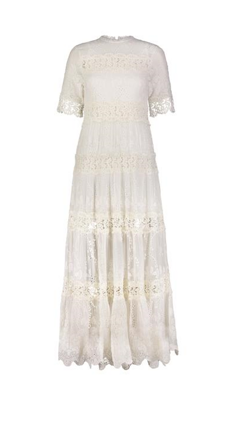 NOUVEAU LONG DRESS OFF WHITE