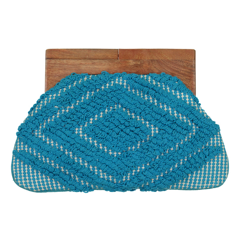Andorra Clutch - Turquoise