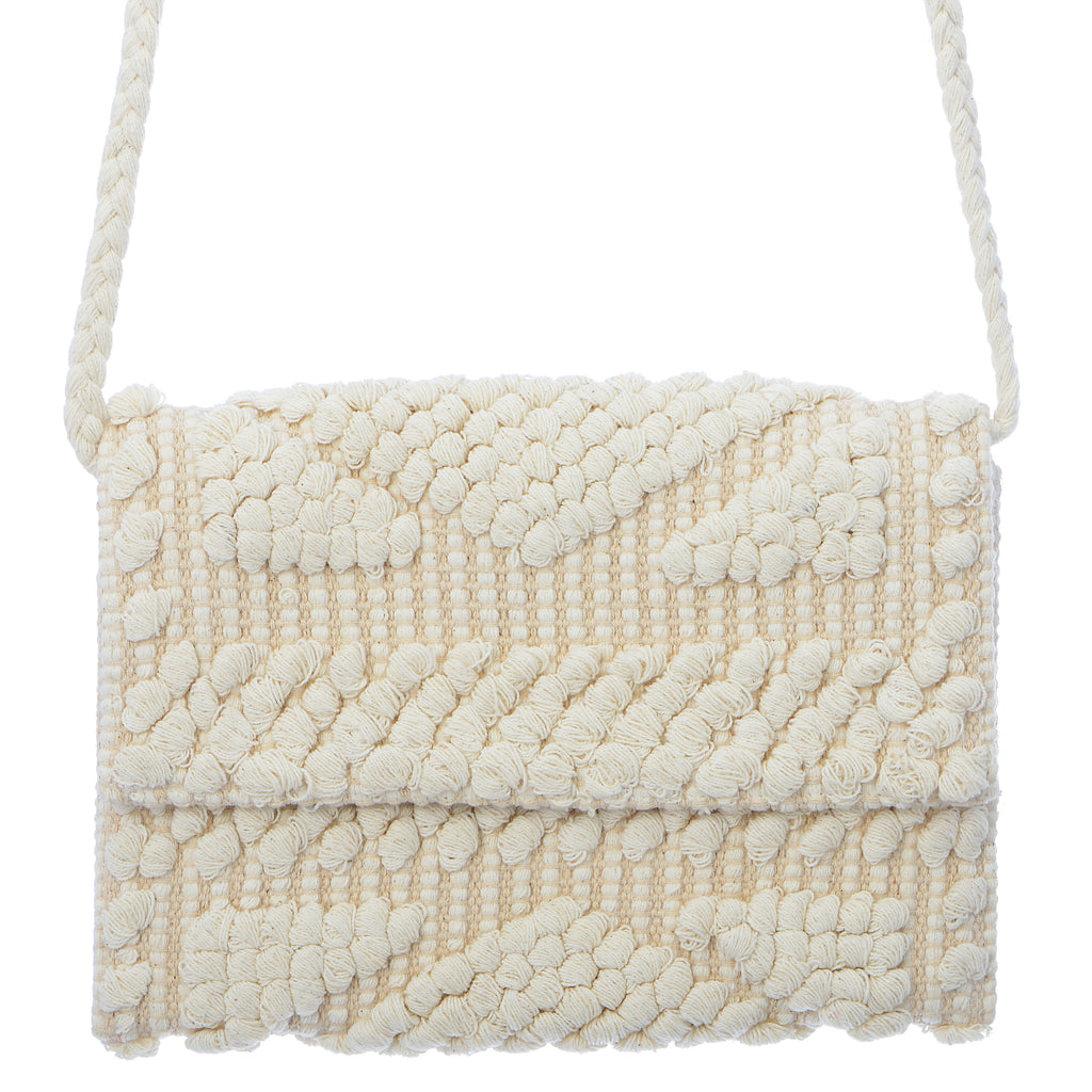 Arrecife Clutch - White