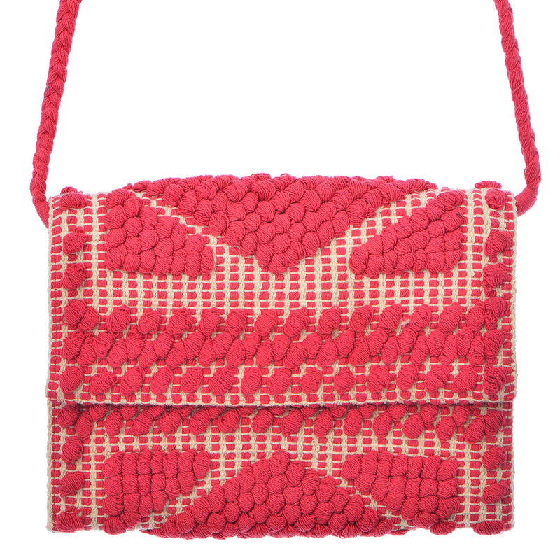 Arrecife Clutch - Red