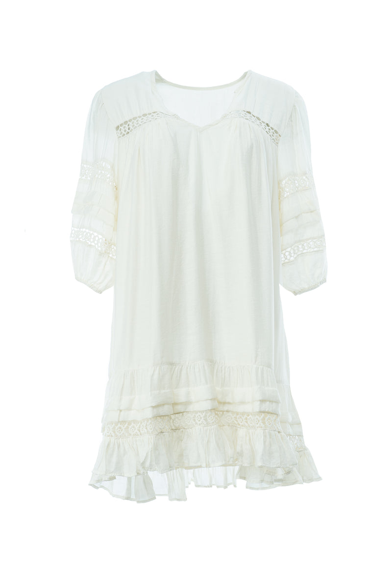 CHRONOS DRESS WHITE