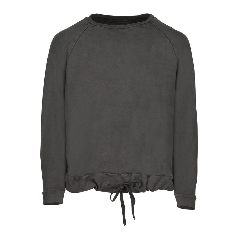 CRAYON COTTON SWEATSHIRT | CHARCOAL