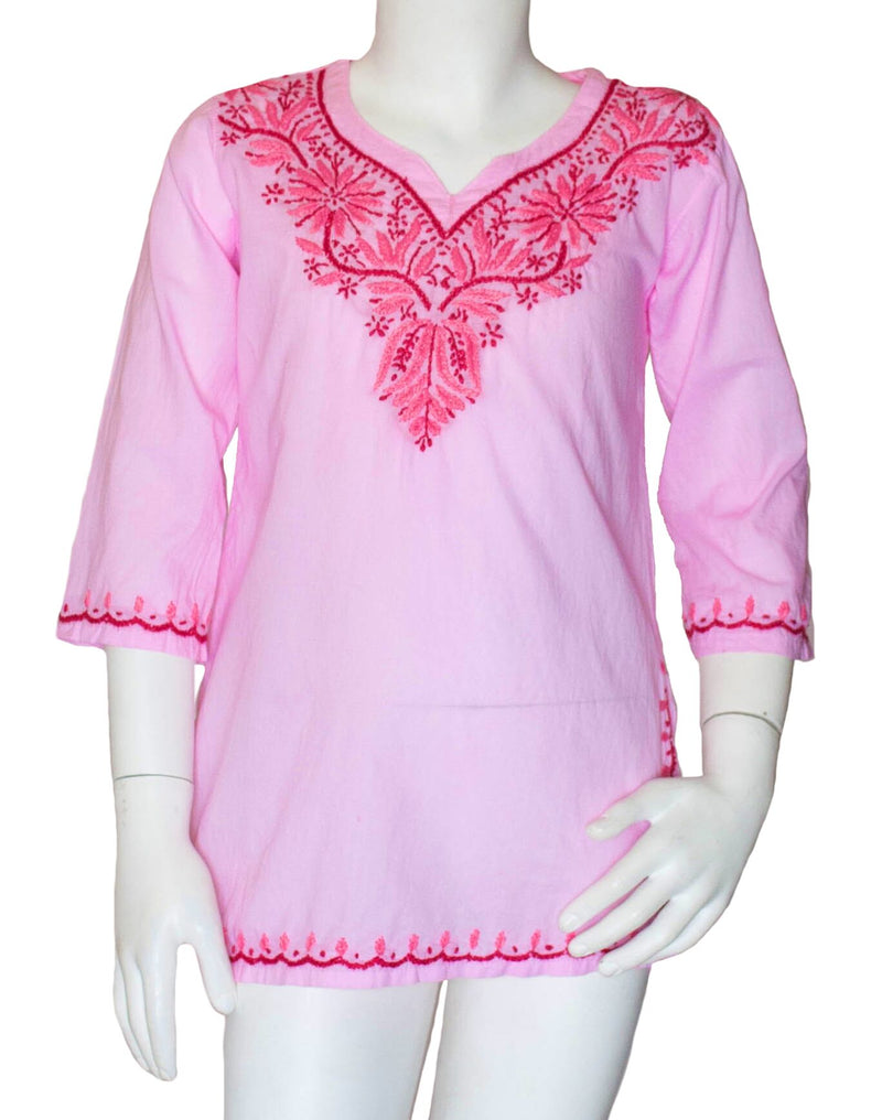 DANI EMBROIDERED TUNIC