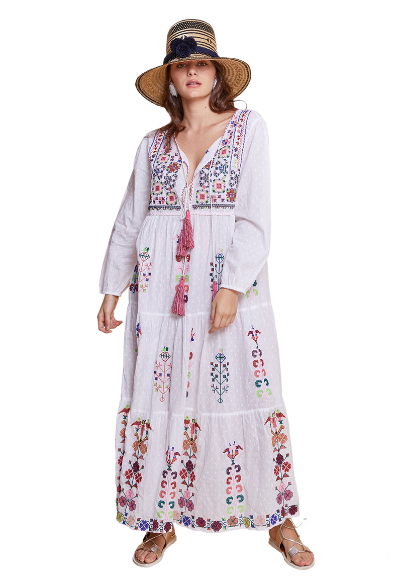 VERANDA LONG FLORAL TUNIC