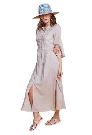 EVELINA LONG TUNIC GREY