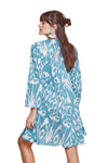 IKAT SHORT TUNIC BLUE
