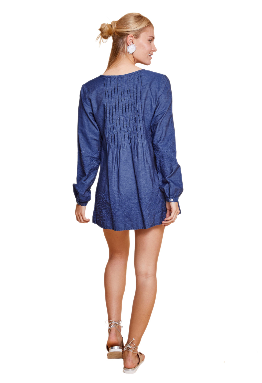 EVIE LONG SLEEVE TUNIC