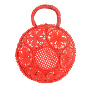 Galapagos Round Basket - Red
