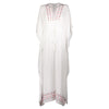 GRACIE LONG KAFTAN WHITE