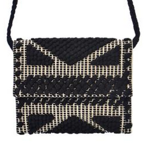Arrecife Clutch - Black