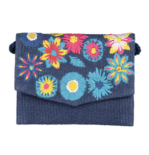 MARGARITA CLUTCH BLUE