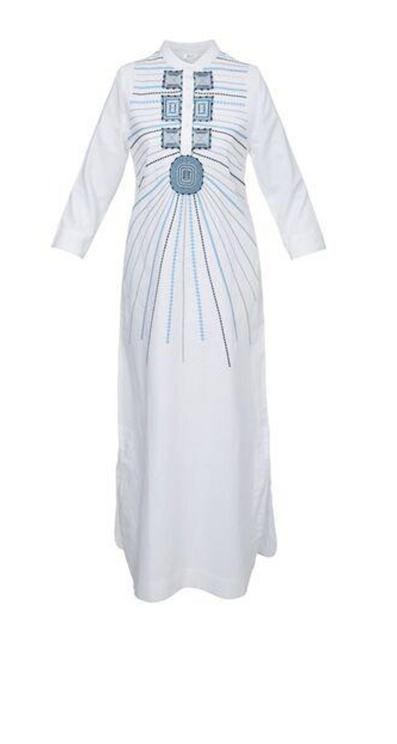 SAMARA LONG TUNIC WHITE