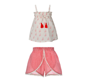 PARROT LILI TOP + MISHA SHORTS MINI