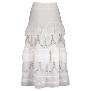 MARIANNE MAXI SKIRT WHITE