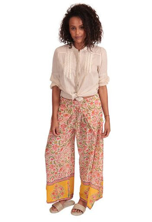 MAYA PANTS YELLOW & MULTI