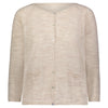 MIA COTTON KNIT CARDIGAN | BEIGE