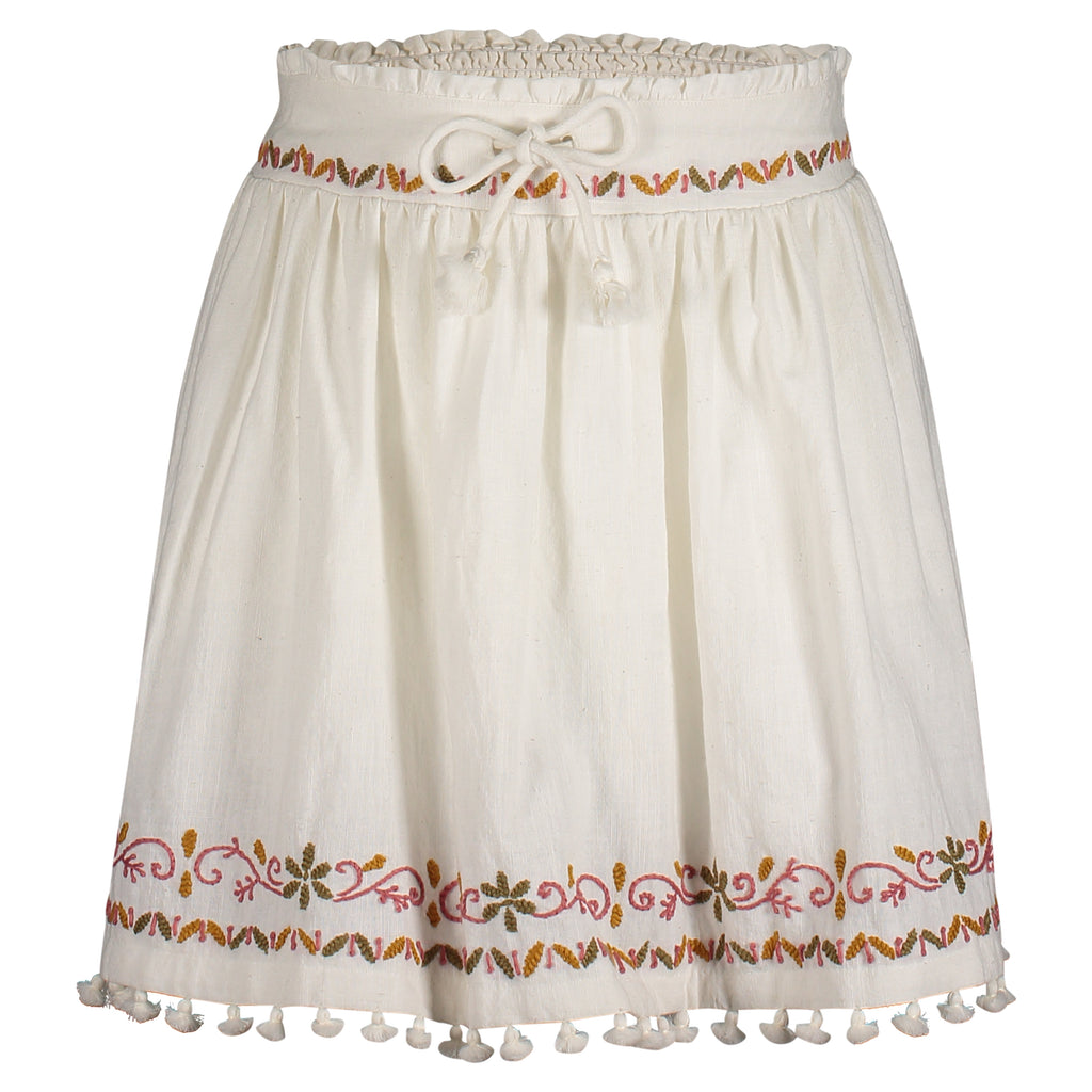 Micaela Embroidered Skirt