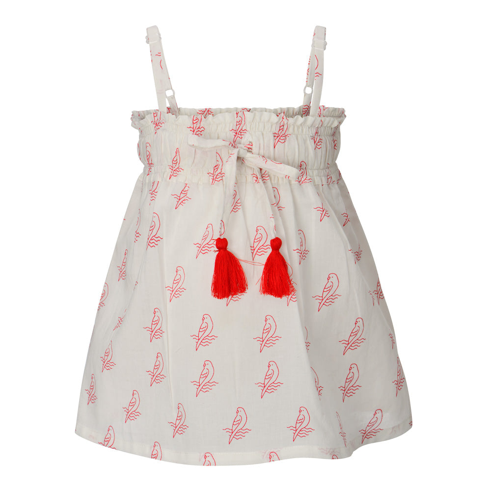 PARROT LILI TOP + MISHA SHORTS