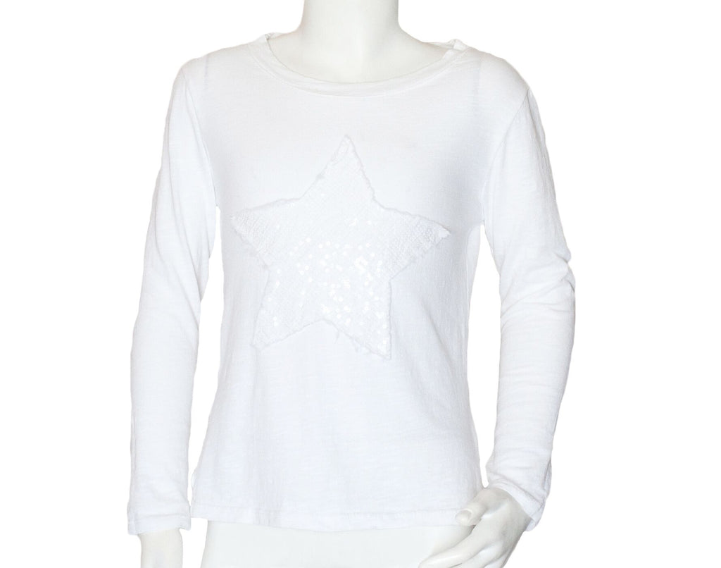 PICCOLINA STAR T-SHIRT | WHITE