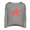 PICCOLA STAR SWEATER | GREY