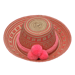 Rose Wayuu Hat