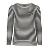 SANDY STRIPED T-SHIRT | WHITE